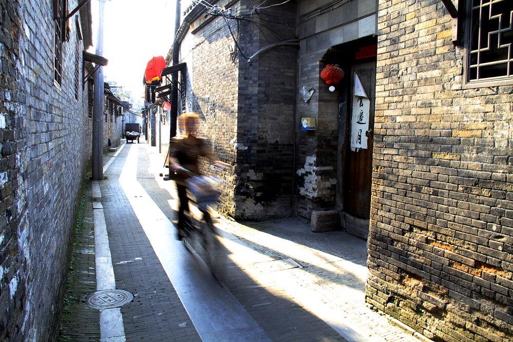 壁纸 风景 古镇 建筑 街道 旅游 摄影 小巷 1000_667