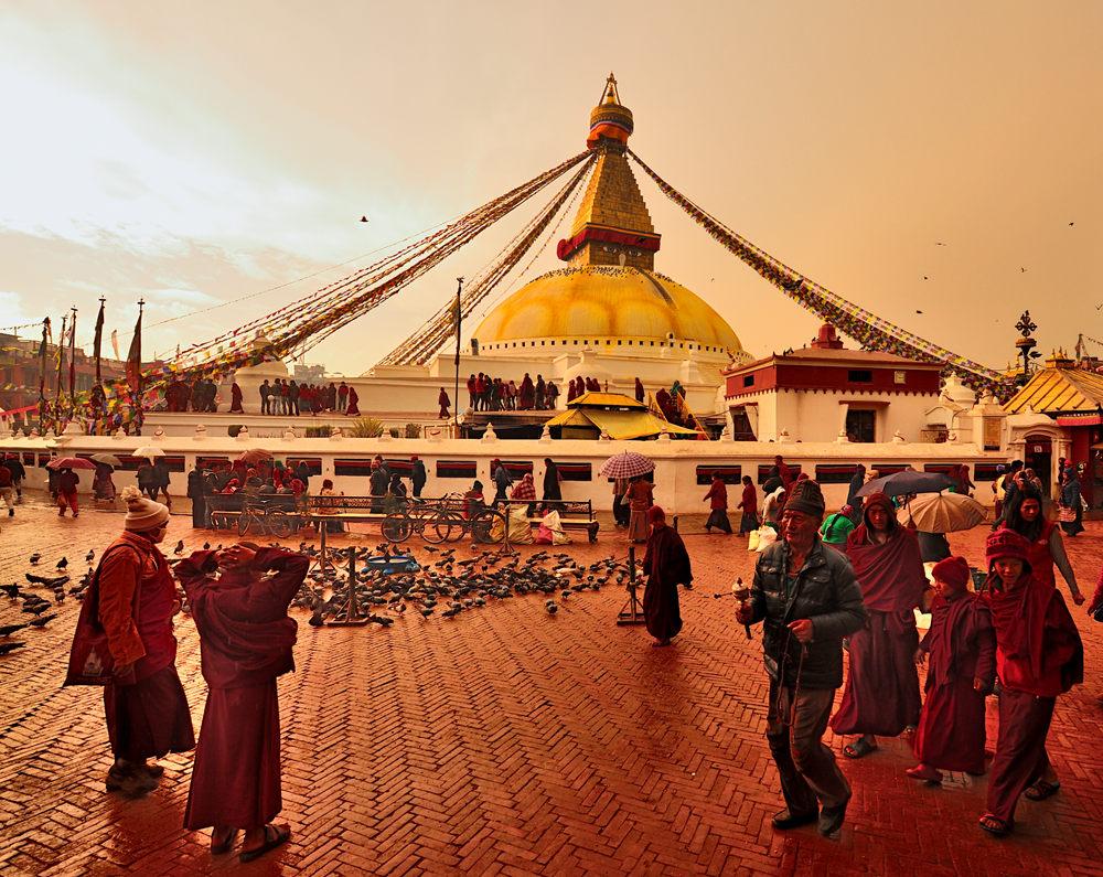大佛塔-尼泊尔