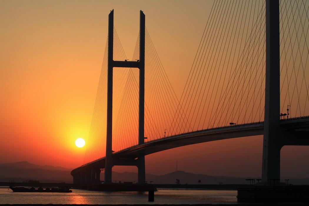 鸭绿江大桥老照片 丹东鸭绿江大桥 朝鲜鸭绿江大桥图片