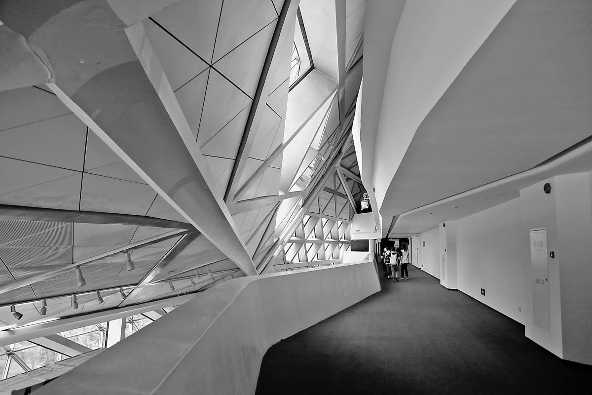 结构 老姜 广州歌剧院内部