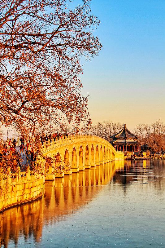 ctps.cn-- 孔桥夕照 月影玲珑 颐和园