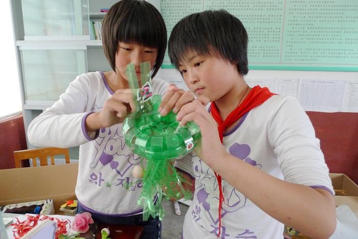 雪碧瓶手工制作花盆