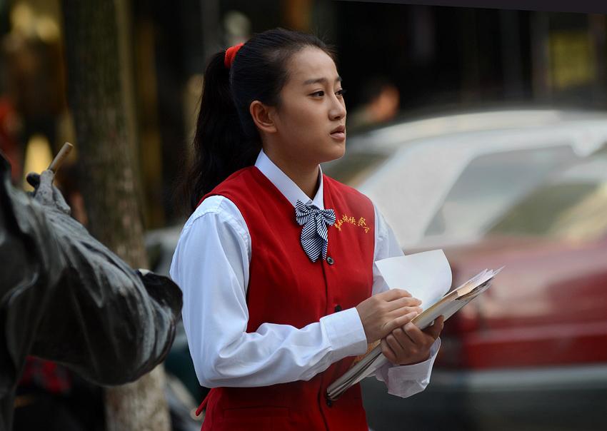 青年演员李木子[饰章雨燕]