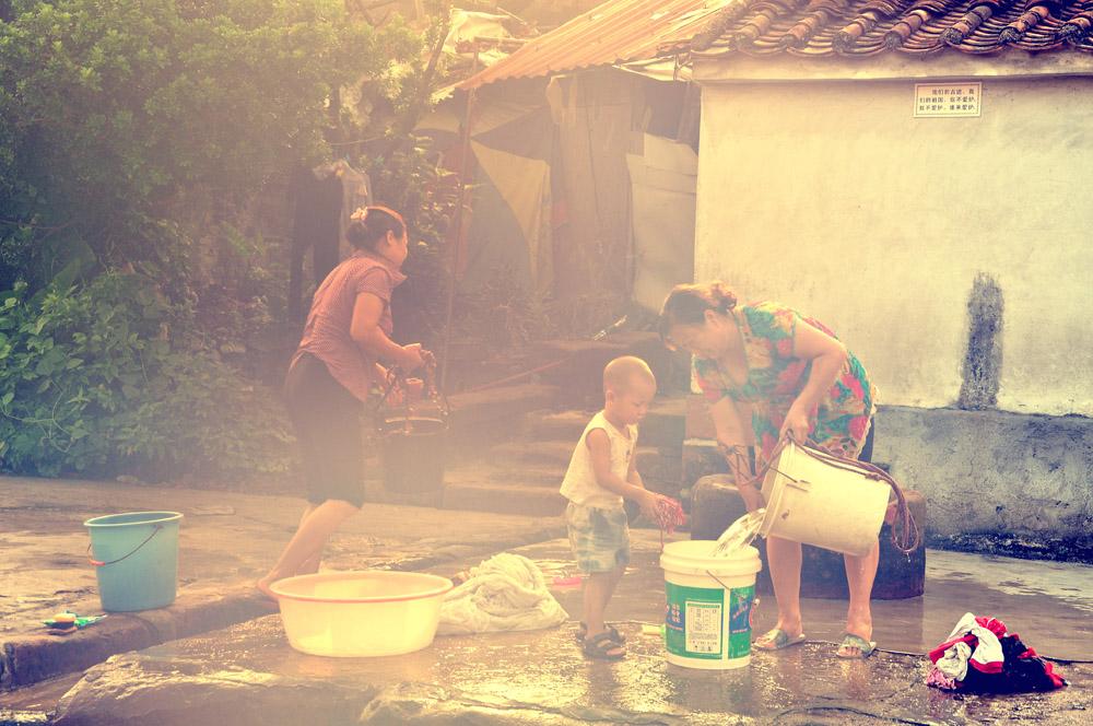 儿时的记忆:洗衣服 - haozjq - 我的博客