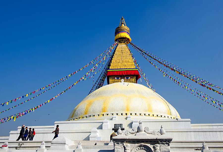 摄游尼泊尔(博达哈大佛塔)