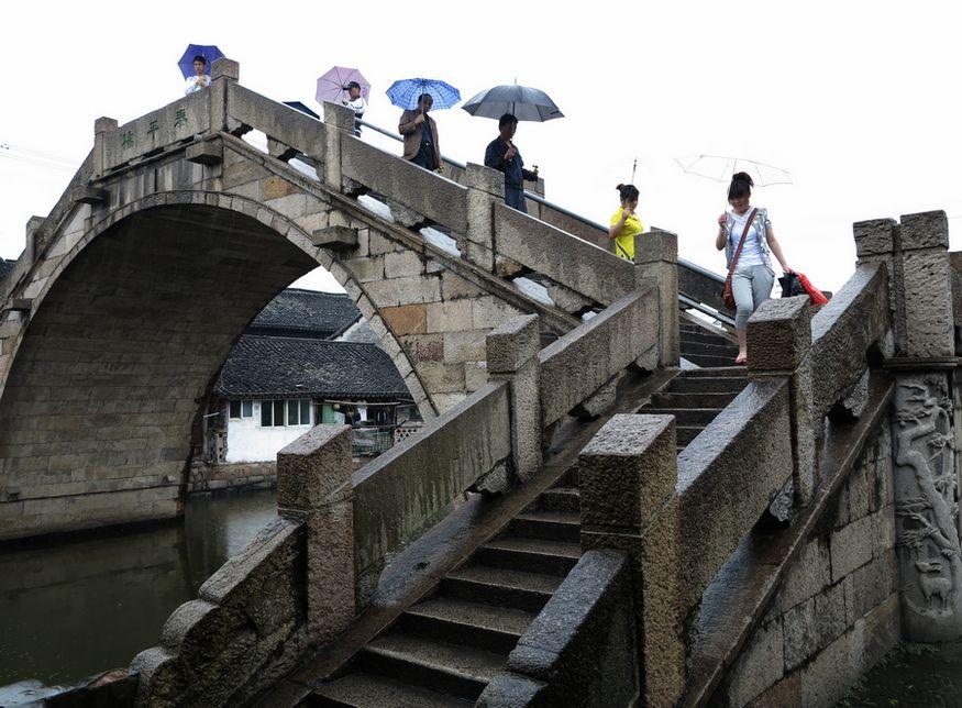 温州古桥简笔画