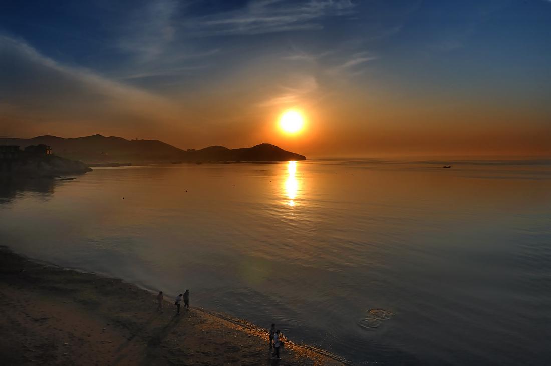 夕阳头像_夕阳西下天空素材_素材分享
