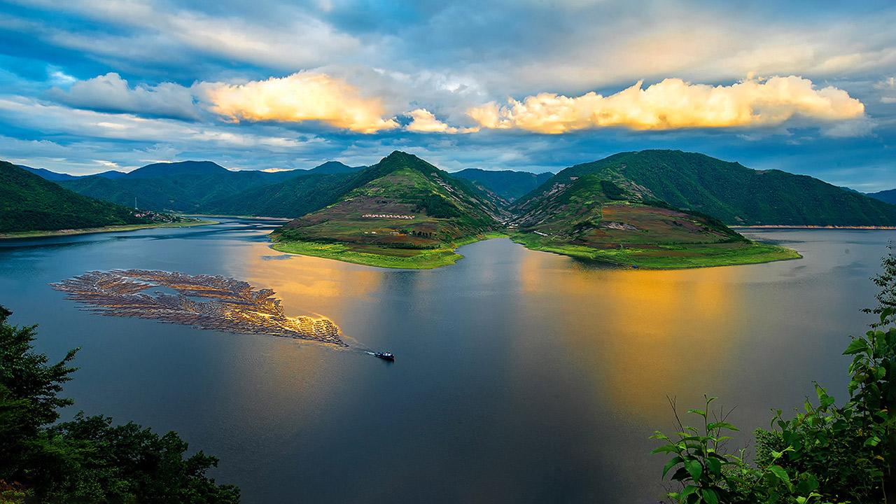 木排—鸭绿江独特的风景